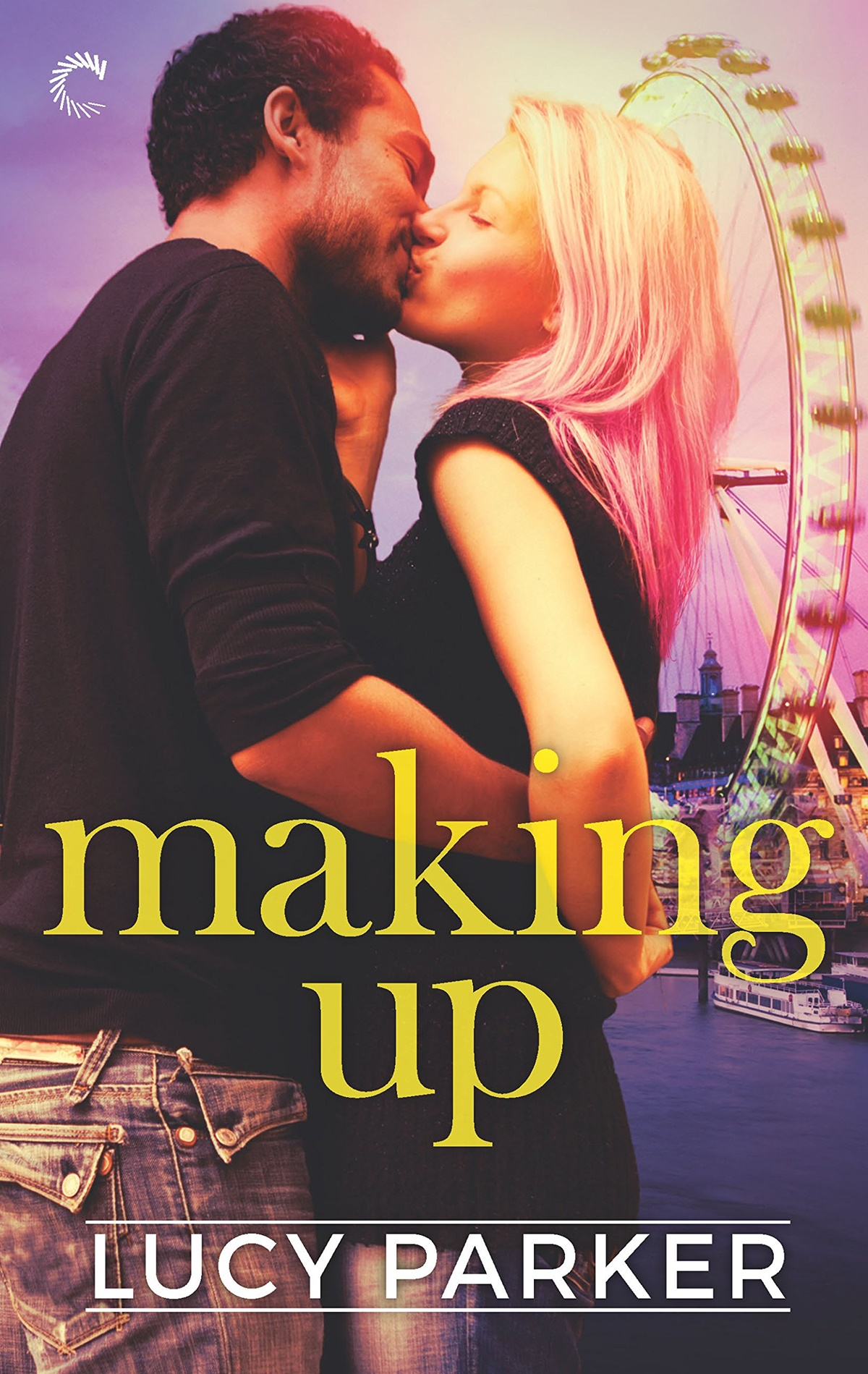 Happy Romance Novels, cover of Making Up by Lucy Parker, books