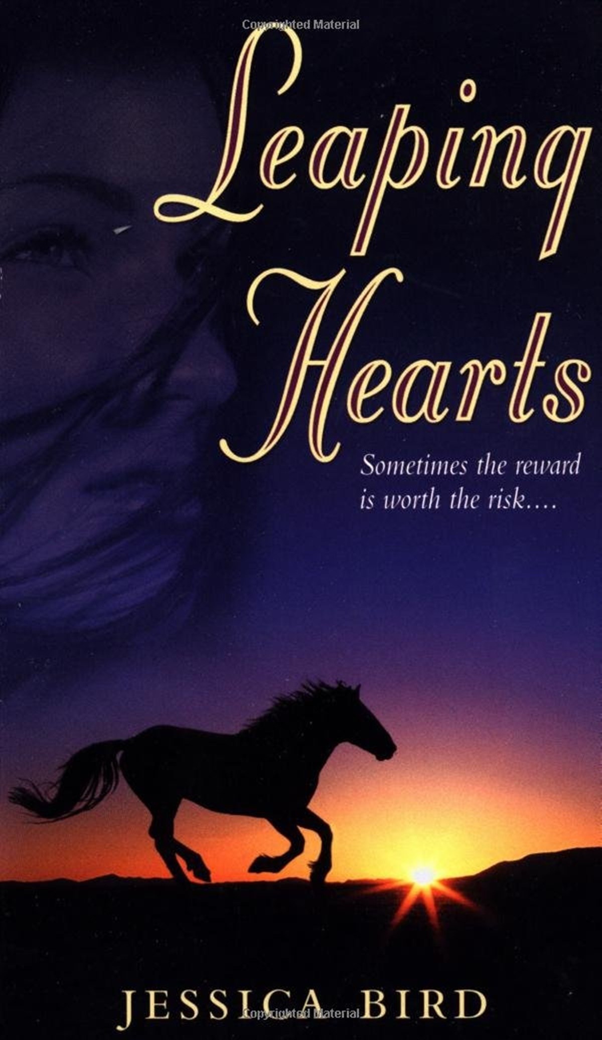Jessica Bird Books, cover of Leaping Hearts by Jessica Bird, books