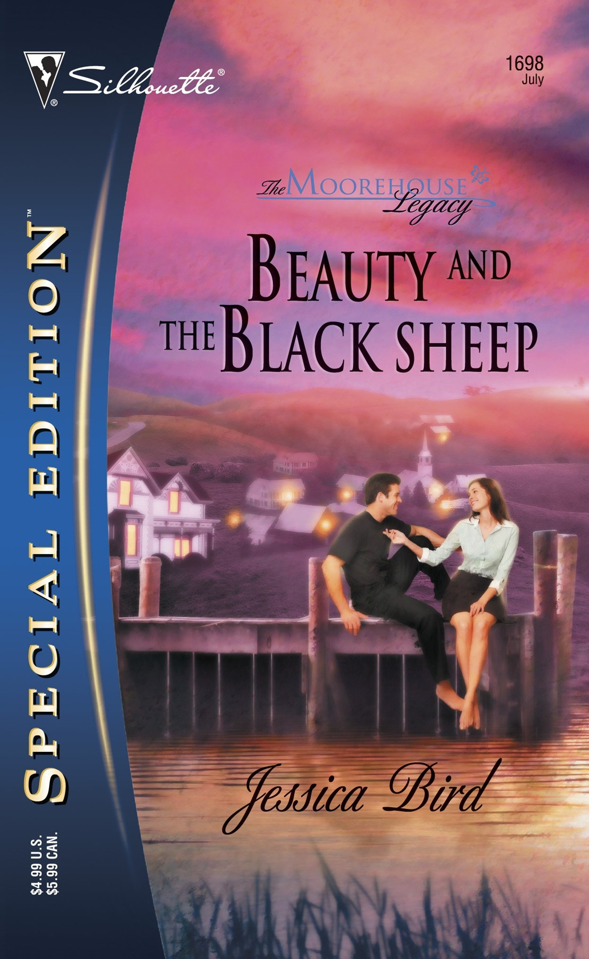 Jessica Bird Books, cover of Beauty and the Black Sheep by Jessica Bird, books