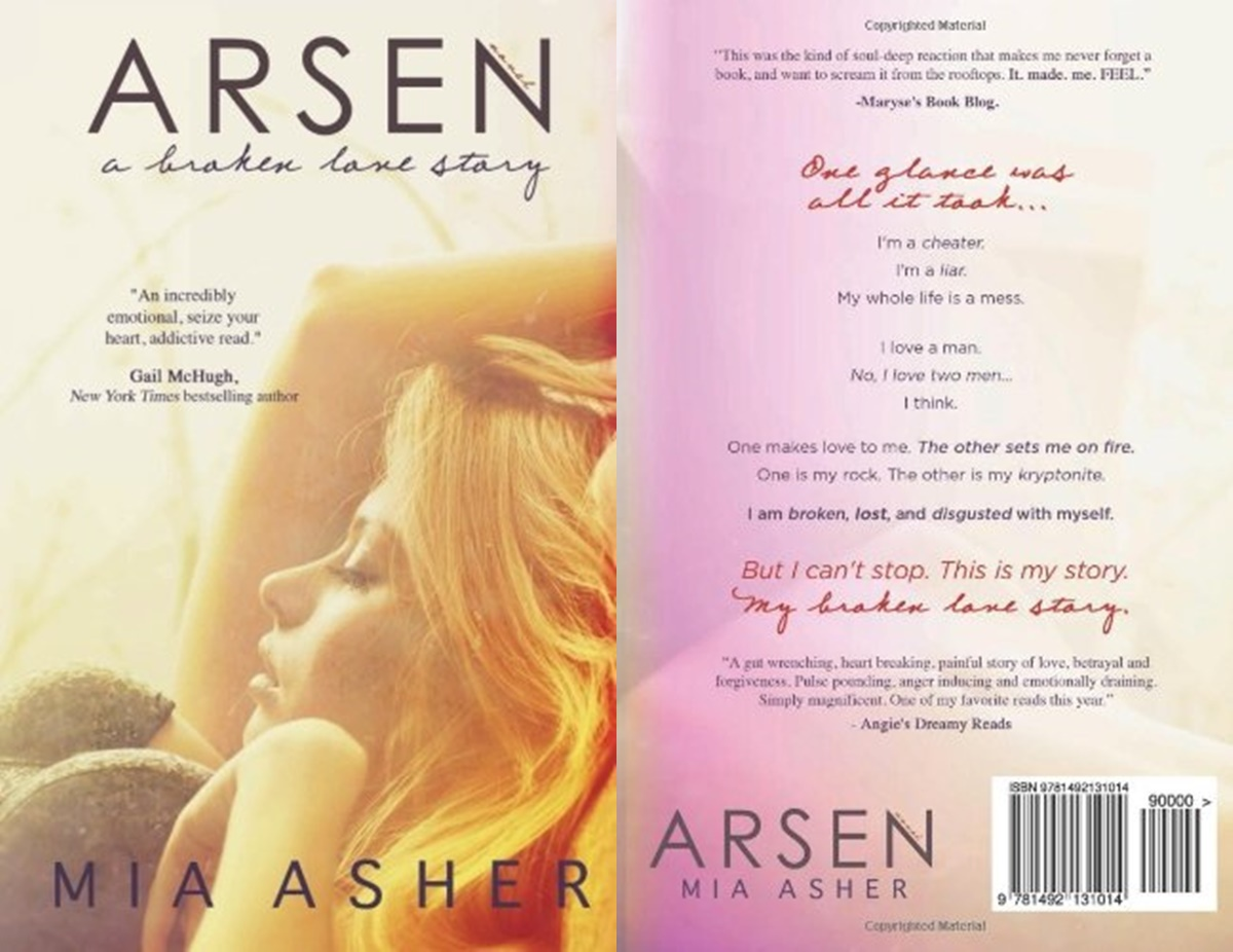 Romance Novels About Affairs, cover of the book Arsen by Mia Asher, books
