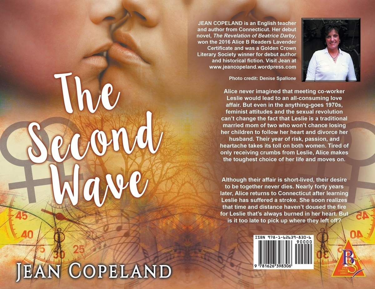 Romance Novels About Affairs, cover of The Second Wave by Jean Copeland, books