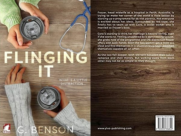 Romance Novels About Affairs, cover of Flinging It by G. Benson, books
