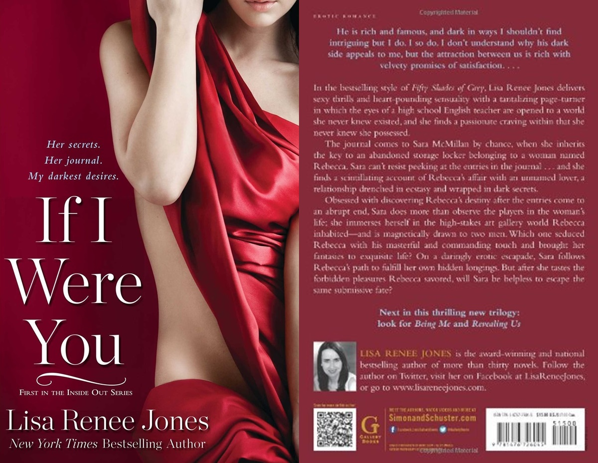 Sexy Romance Novels, cover of If I Were You by Lisa Renee Jones, books
