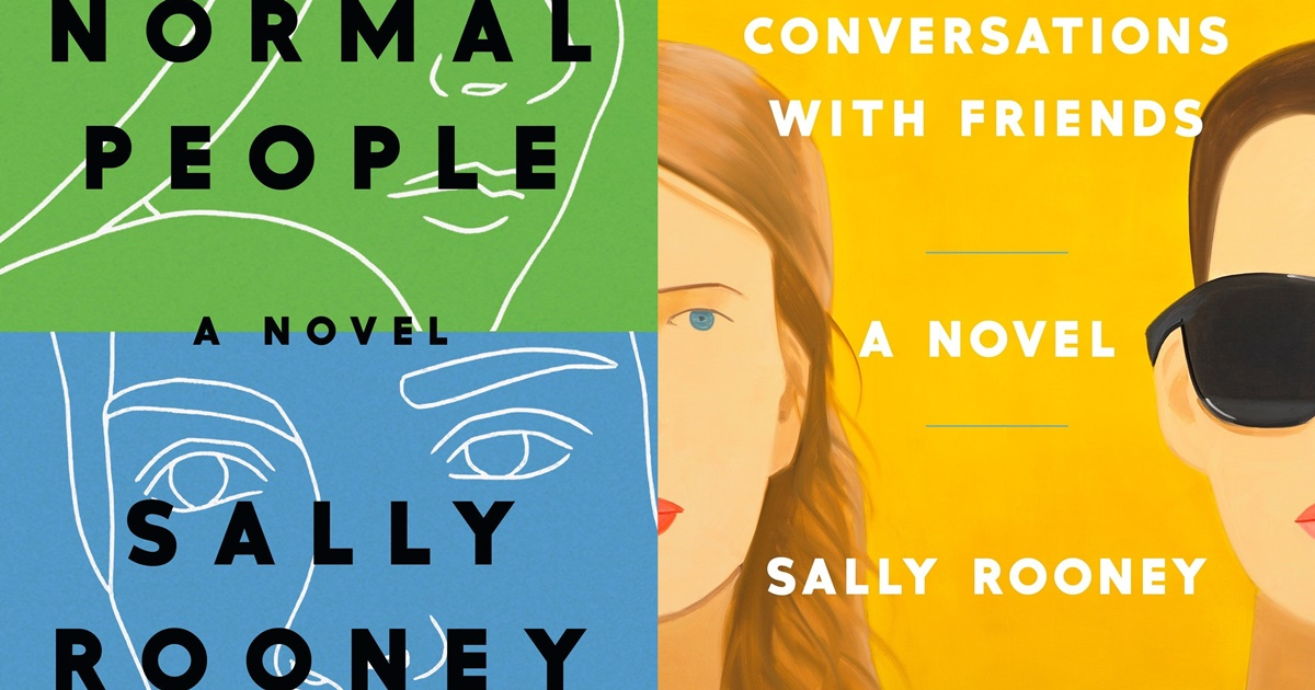Sally Rooney Books, two books by Sally Rooney, books
