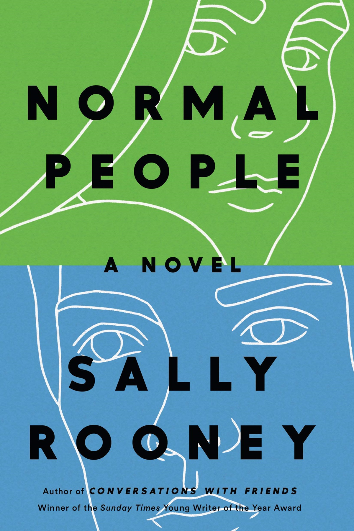 Sally Rooney Books, cover of Normal People by Sally Rooney, books