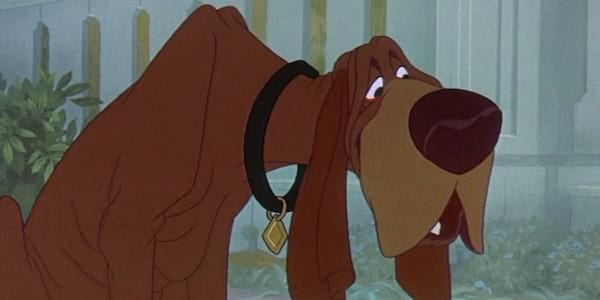cartoon dog, lady and the tramp
