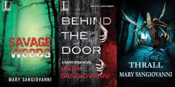 books, three books by Mary SanGiovanni, Female Horror Authors