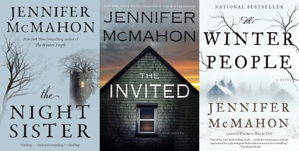 books, three books by Jennifer McMahon, Female Horror Authors