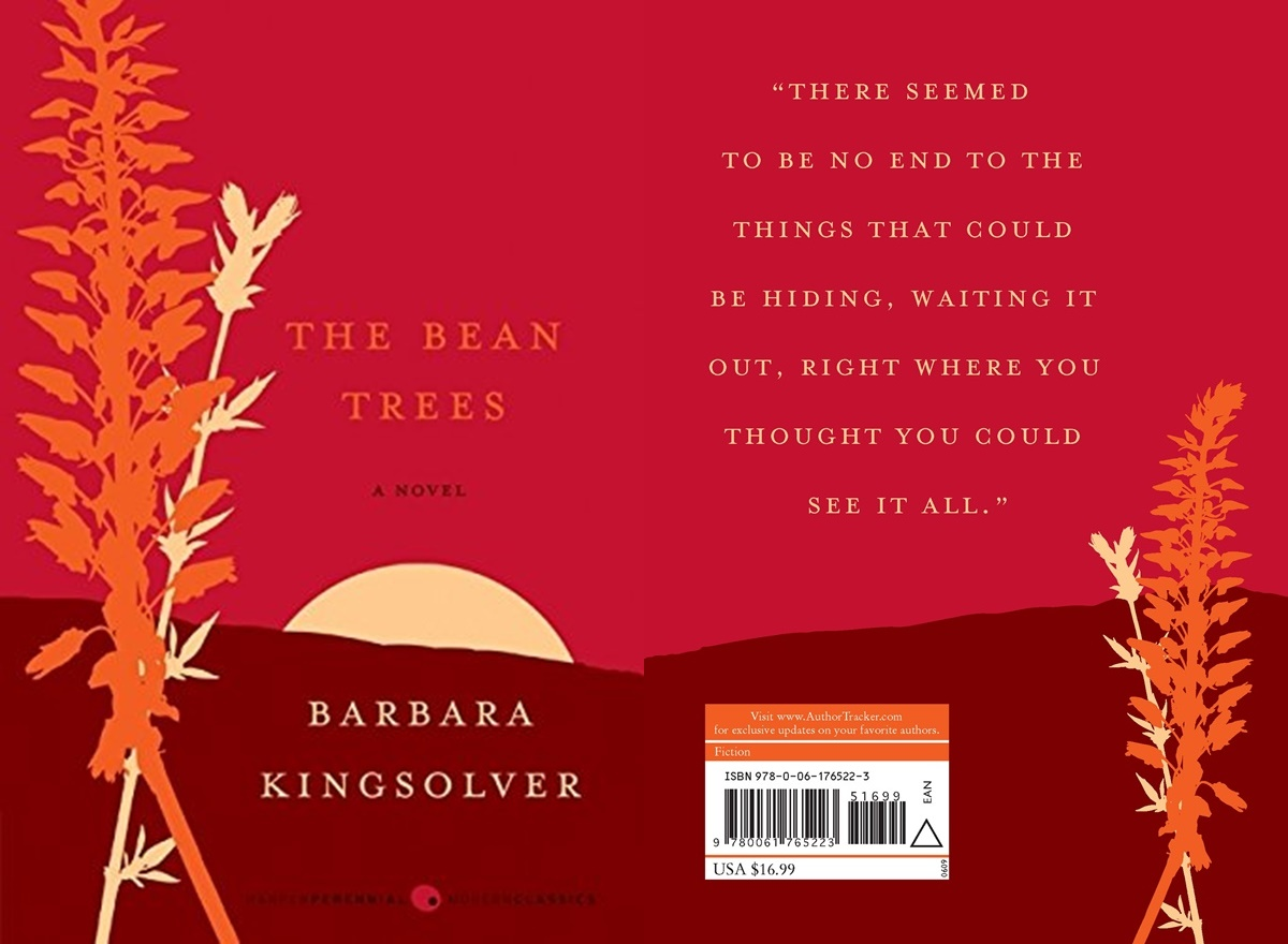 Books For Women Over 50, cover of the bean trees by barbara kingsolver, books