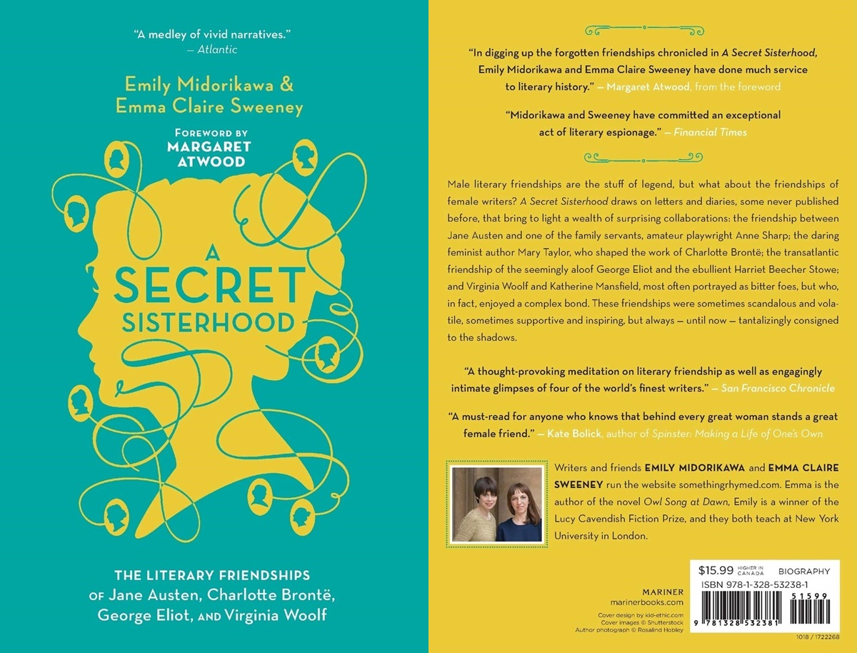 Books For Women Over 50, cover of a secret sisterhood by emily midorikawa and emma claire sweeney, books