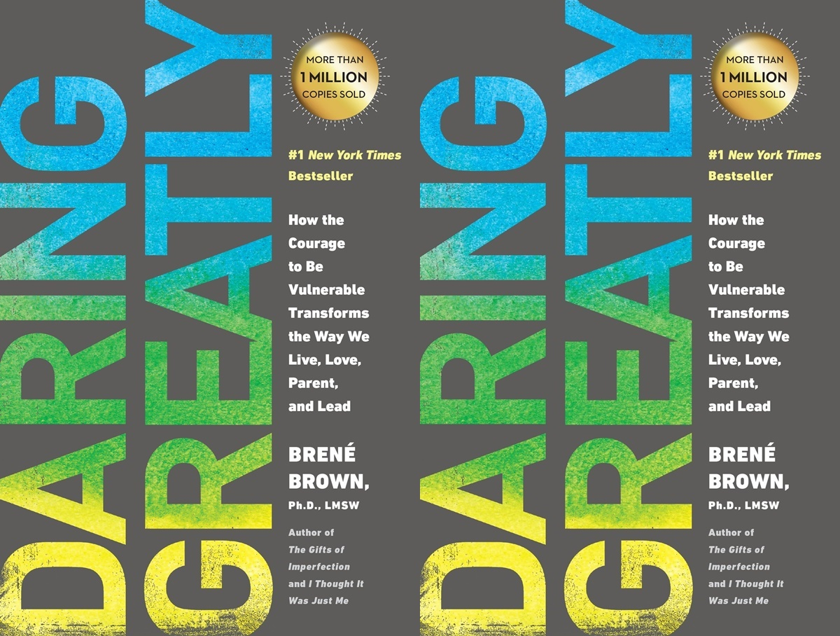 Books For Women Over 50, cover of daring greatly by brene brown, books