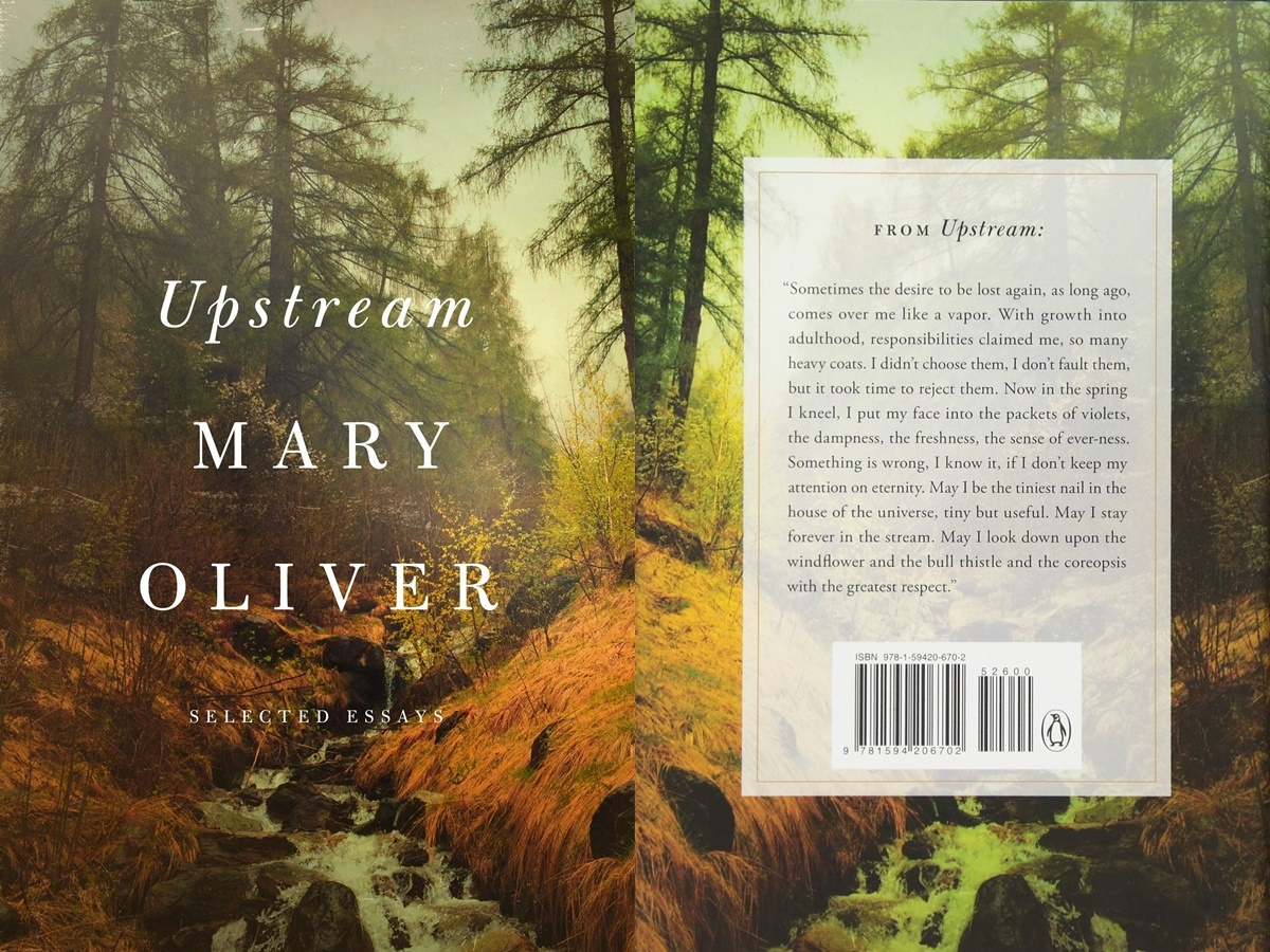 Books For Women Over 50, cover of upstream by mary oliver, books