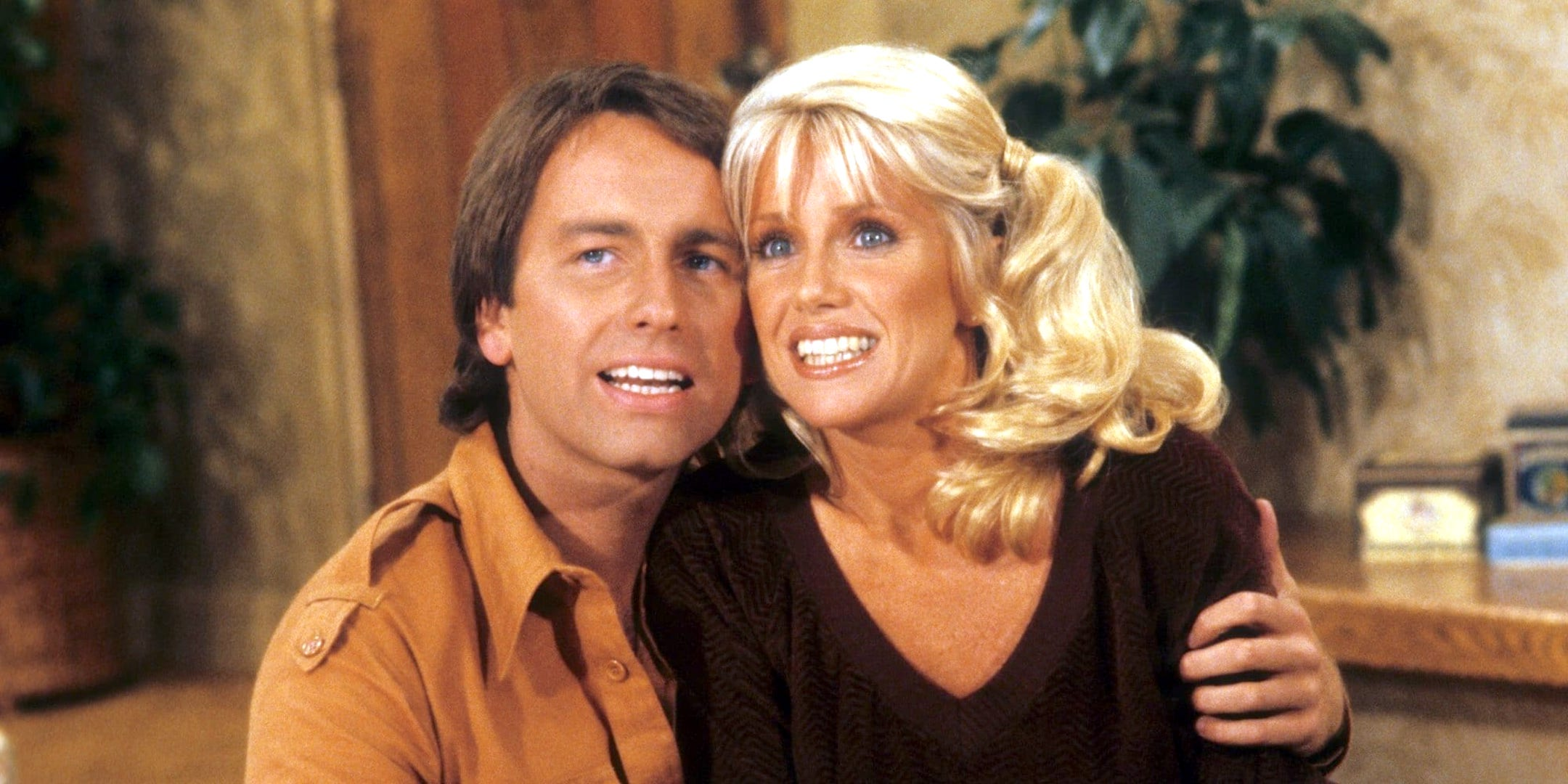 tv, Three's Company, john ritter as jack tripper, suzanne somers as chrissy snow, 70s, 80s, AMC