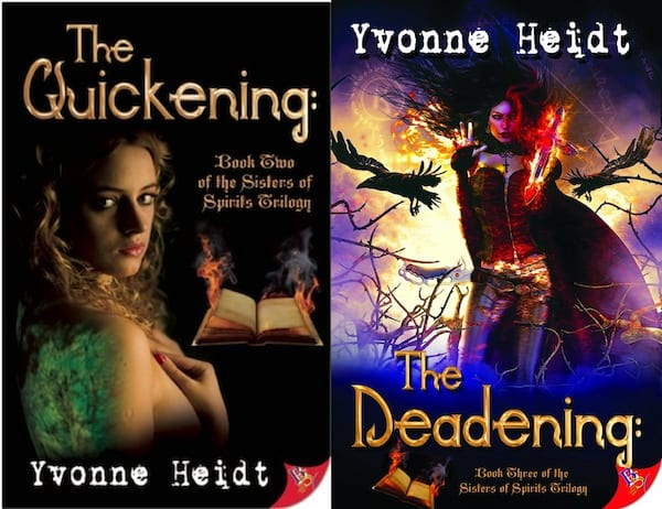 Female Friendships in Romance, the sisters of spirits series by yvone heidt, books