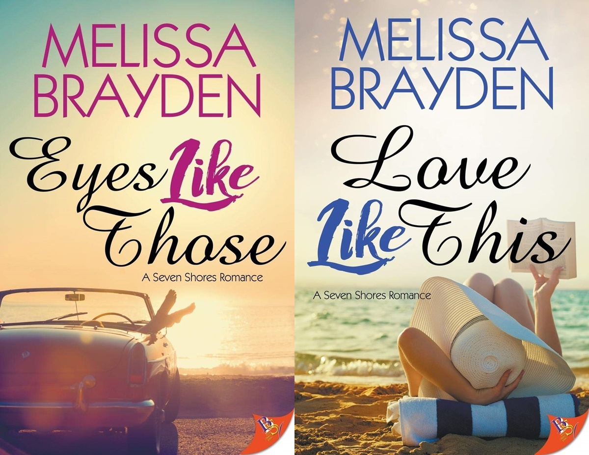 Female Friendships in Romance, the seven shores series by melissa brayden, books