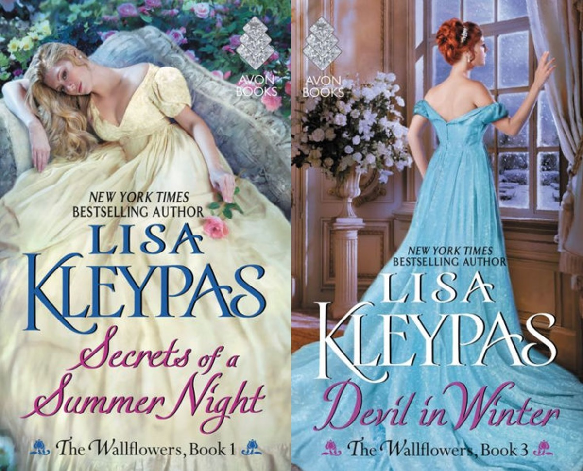 Female Friendships in Romance, the wallflowers series by lisa kleypas, books