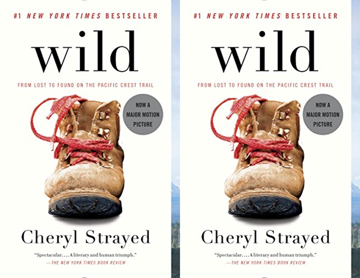 books for people who don't like reading, cover of wild by cheryl strayed, books