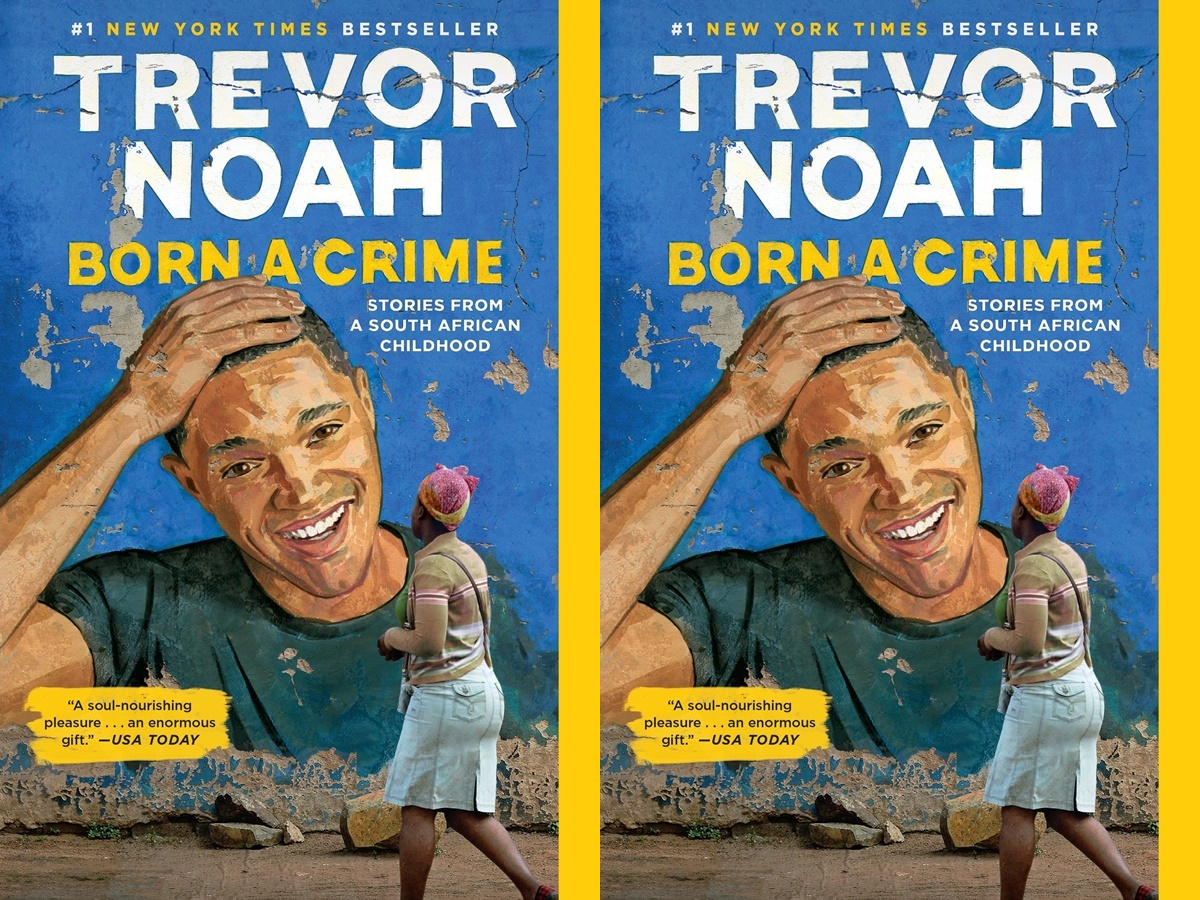 books for people who dont like to read, cover of born a crime by trevor noah, books