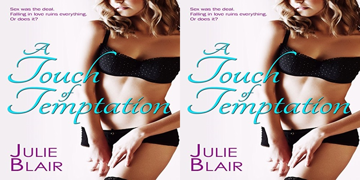 erotic audiobooks, cover of A Touch of Temptation by Julie Blair, books