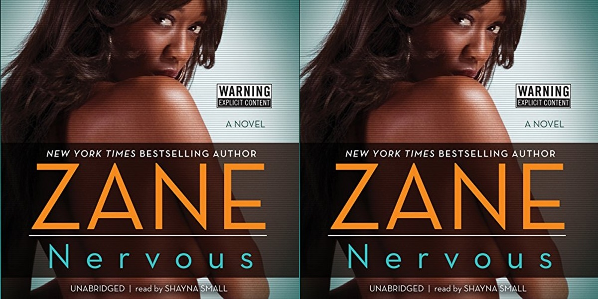 erotic audiobooks, cover of nervous by zane, books