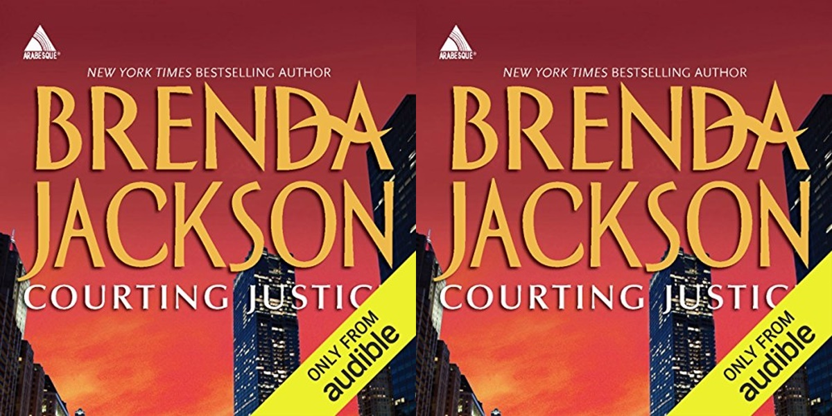 erotic audiobooks, courting justice by brenda jackson, books