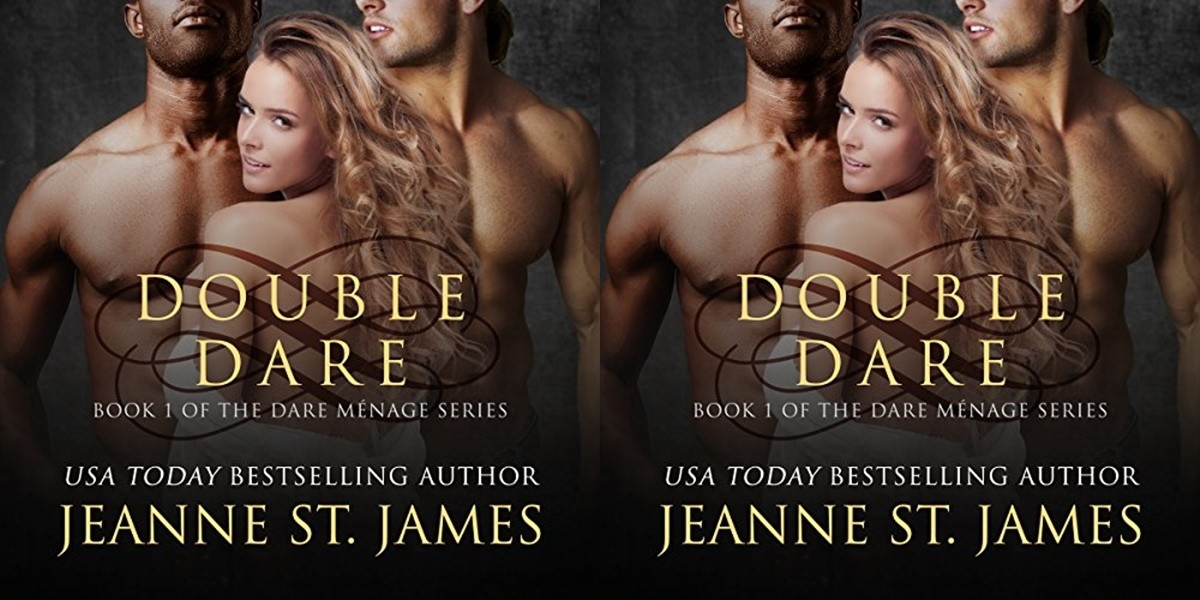erotic audiobooks, cover of double dar by jeanne st. james
