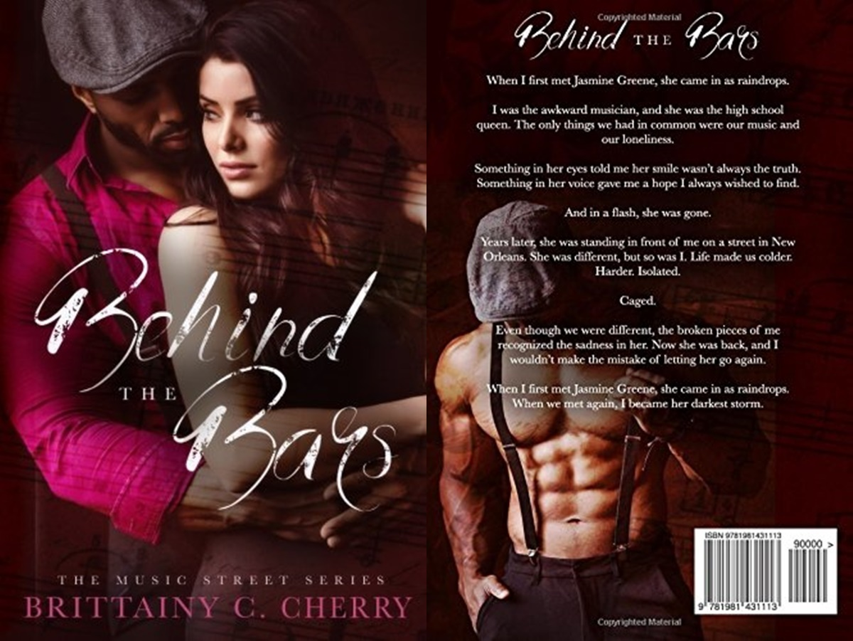 second chance romance, cover of behind the bars by brittainy c. cherry, books