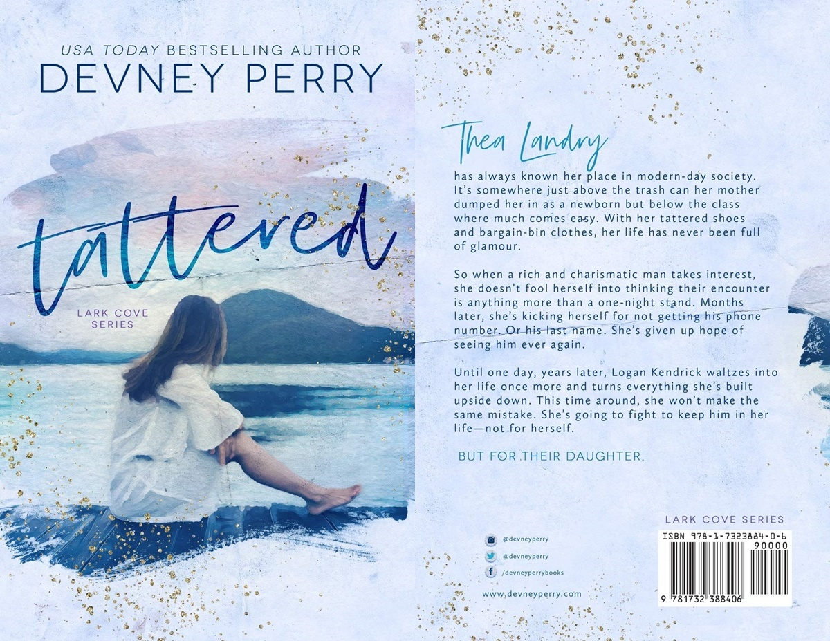 second chance romance, cover of tattered by devney perry, books
