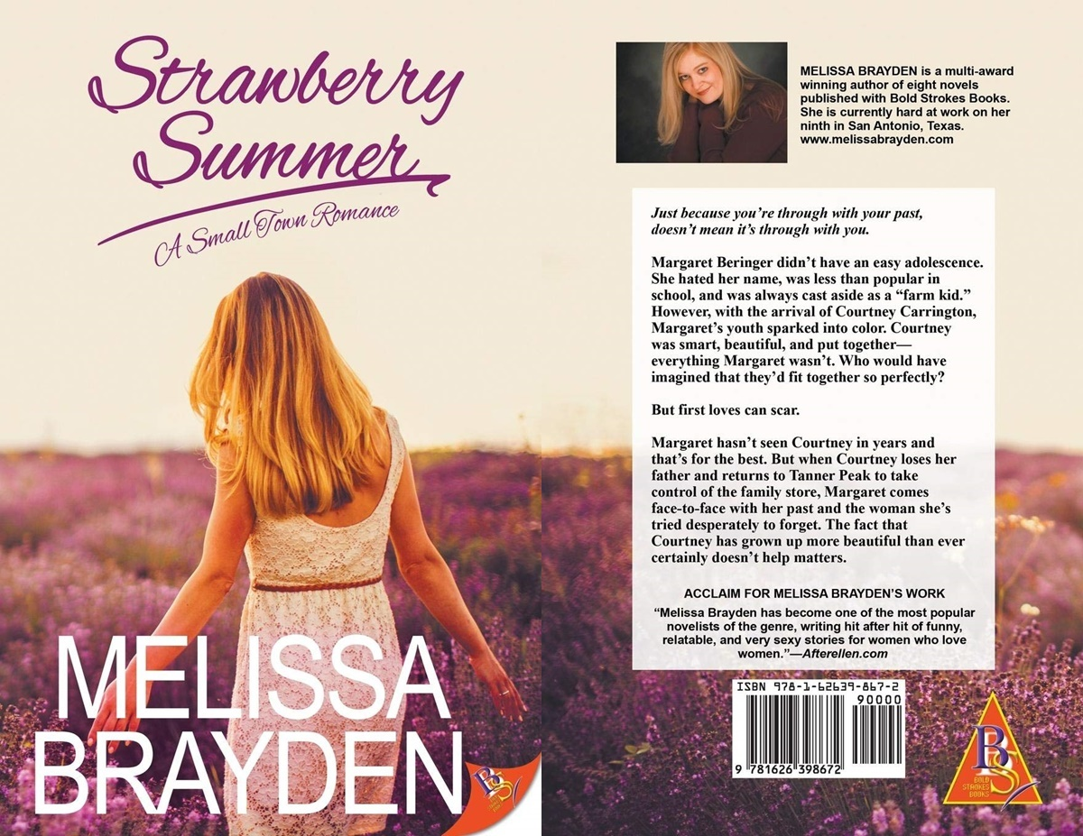 second chance romance, cover of Strawberry Summer by Melissa Brayden, books
