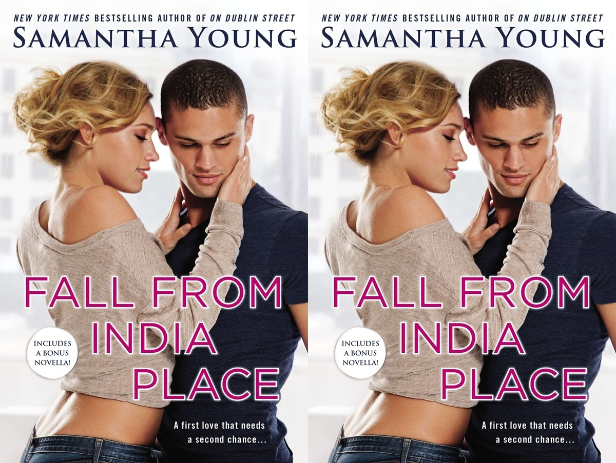 second chance romance, cover of fall from india place by samantha young, books