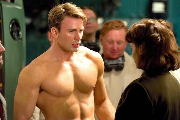 Fan Yourself Down While You Read Some Sexy Captain America