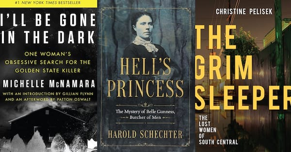 books about three serial killers, books