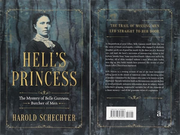 books about serial killers, cover about hell's princess by harold schechter, books
