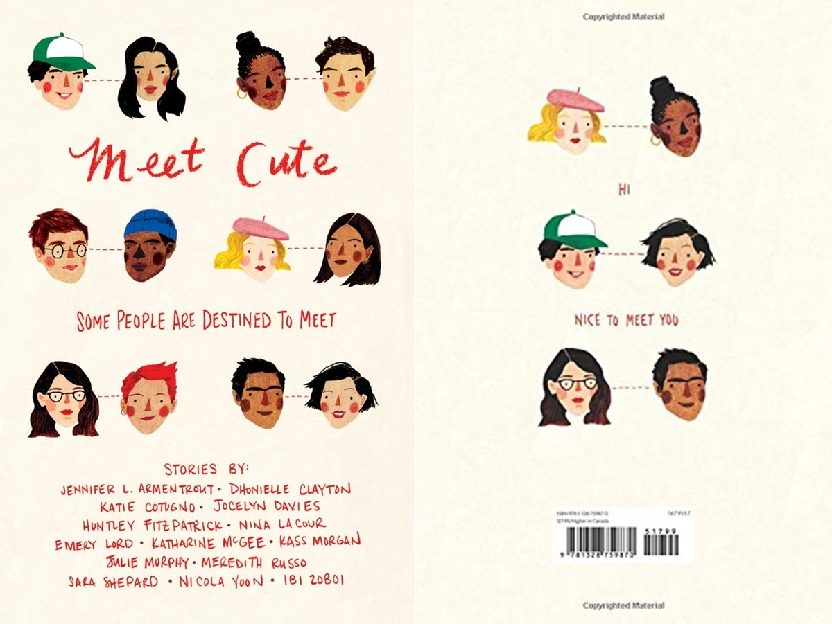 romance novel meet cutes, cover of meet cute by various authors, books