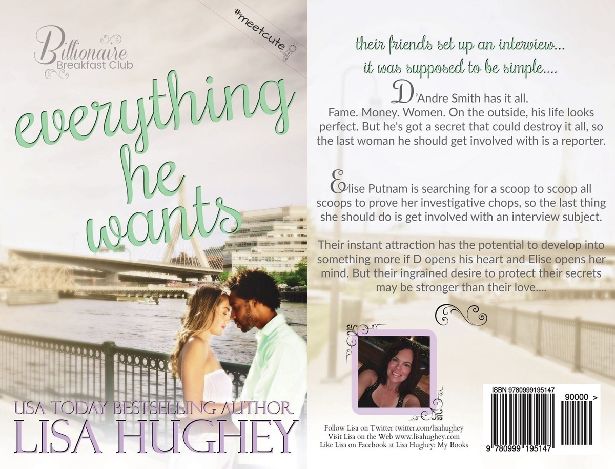 romance novel meet cutes, cover of everything he wants by lis hughey, books