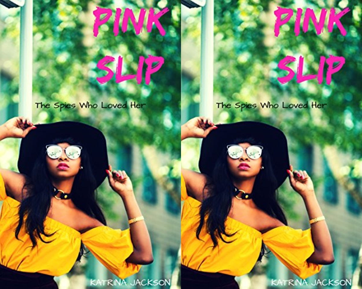 First Romance Novels, cover of pink slip by katrina jackson, books