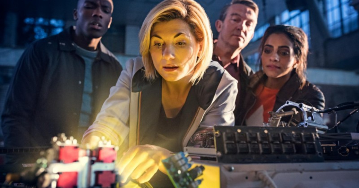 Jodie Whittaker as the Thirteenth Doctor in 'Doctor Who'