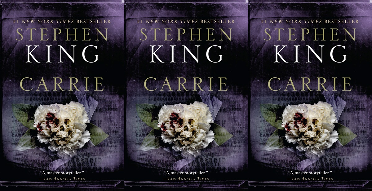 books about dysfunctional families, cover of carrie by stephen king, books