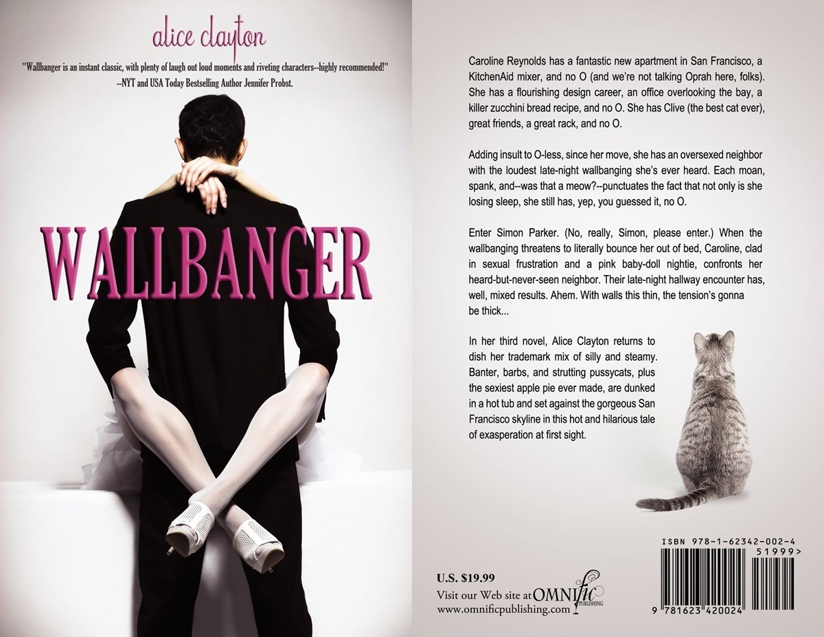 books that began as fanfiction, cover of wallbanger by alice clayton, books