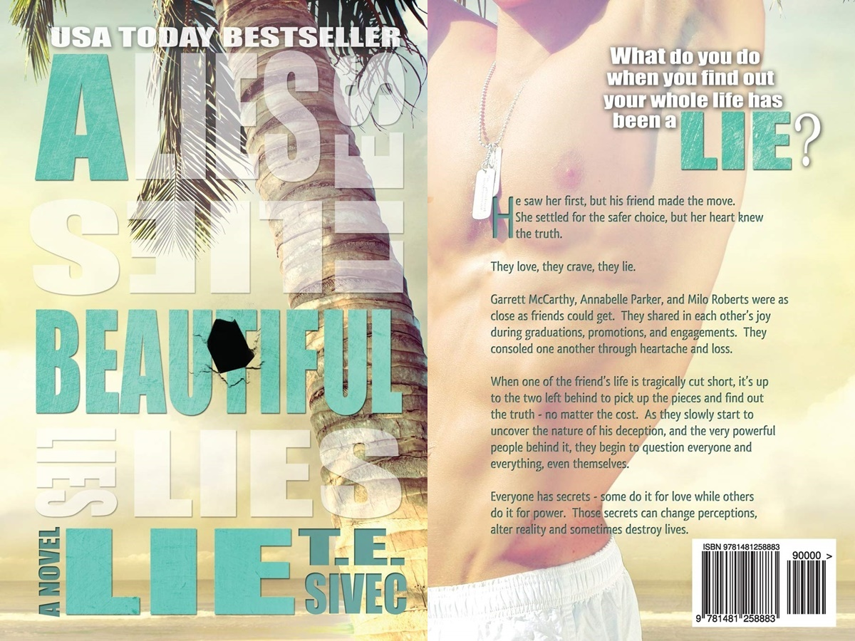 books that began as fanfiction, cover of a beautiful lie by t.e. sivec, books
