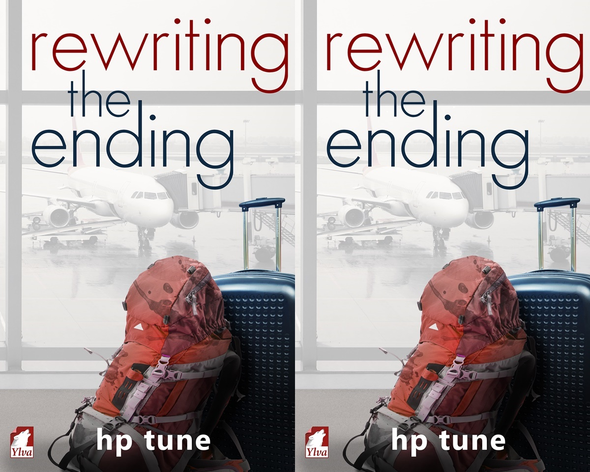 books that began as fanfiction, cover of rewriting the ending by h.p. tune, books
