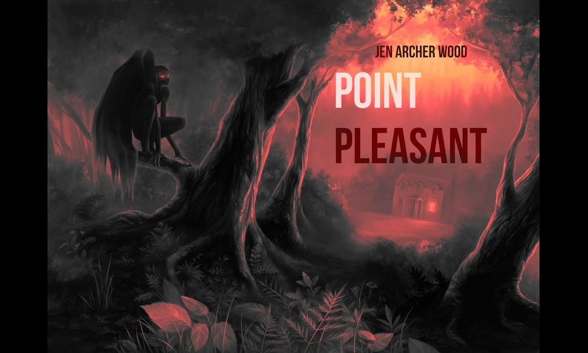 books that began as fanfiction, cover of point pleasant by jen archer wood, books
