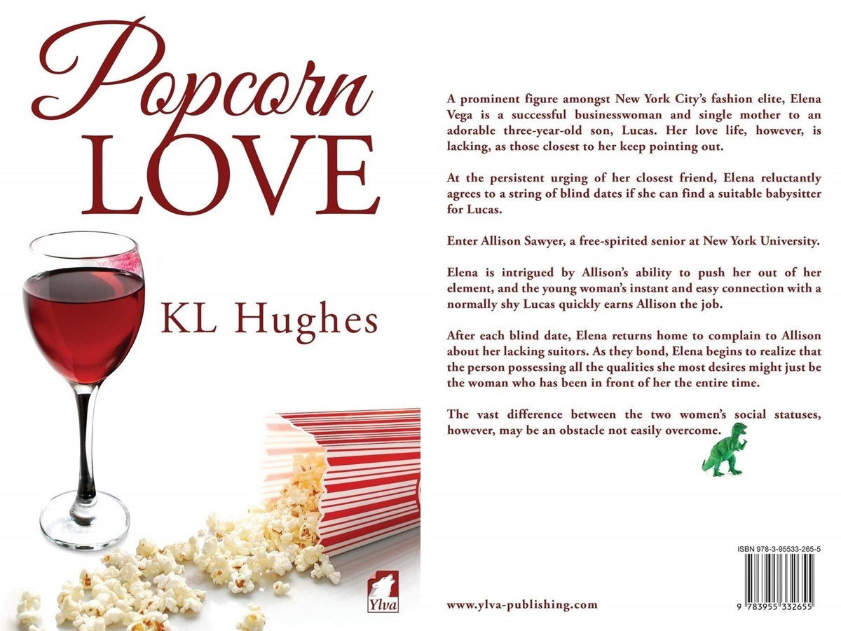 books that began as fanfiction, cover of popcorn love by k.l. hughes, books