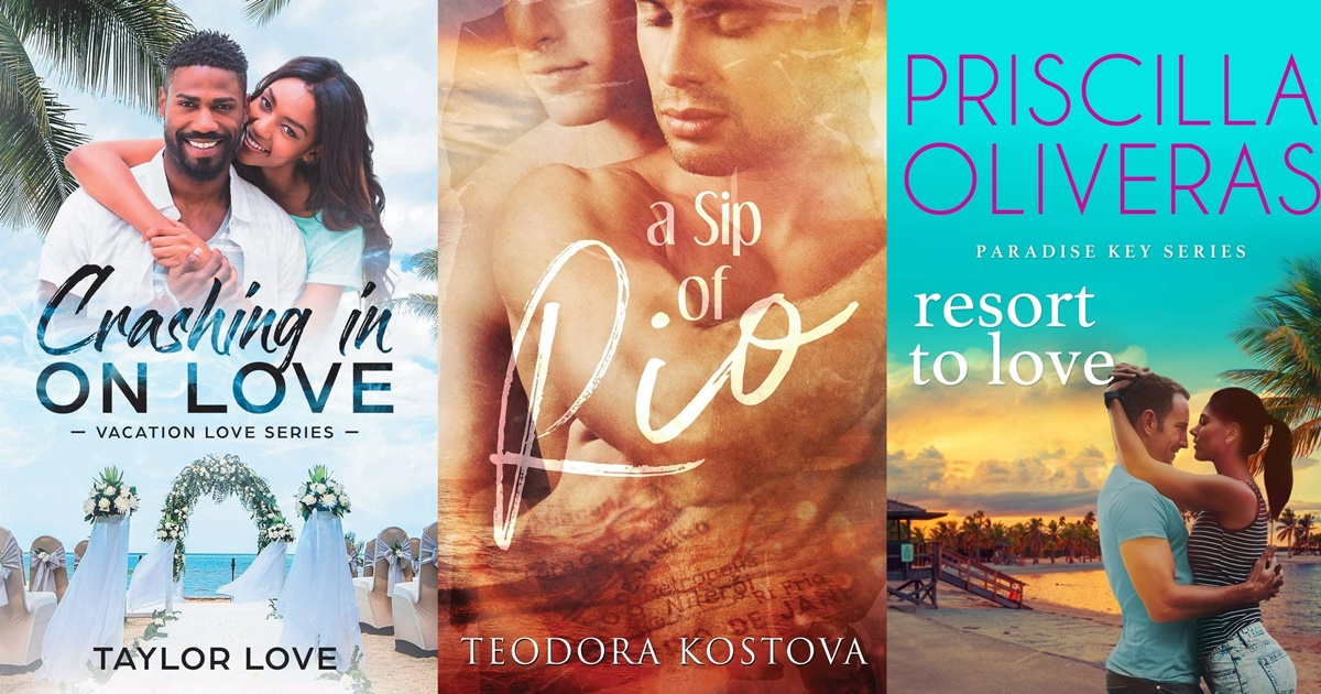 romance novels to read on vacation, books