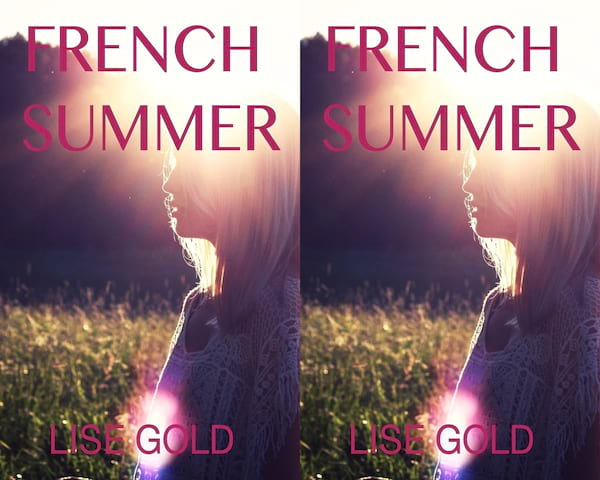 romance novels to read on vacation, cover of french summer by lise gold, books