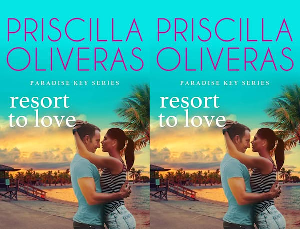 romance novels to read on vacation, cover of resort to love by priscilla oliveras, books