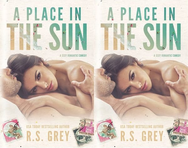 romance novels to read on vacation, cover of a place in the sun by r.s. grey, books