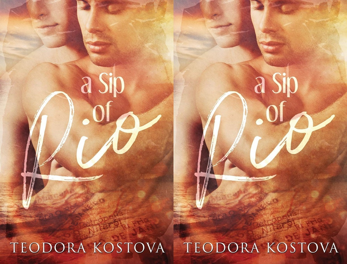 romance novels to read on vacation, cover of a sip of rio by teodora kostova, books