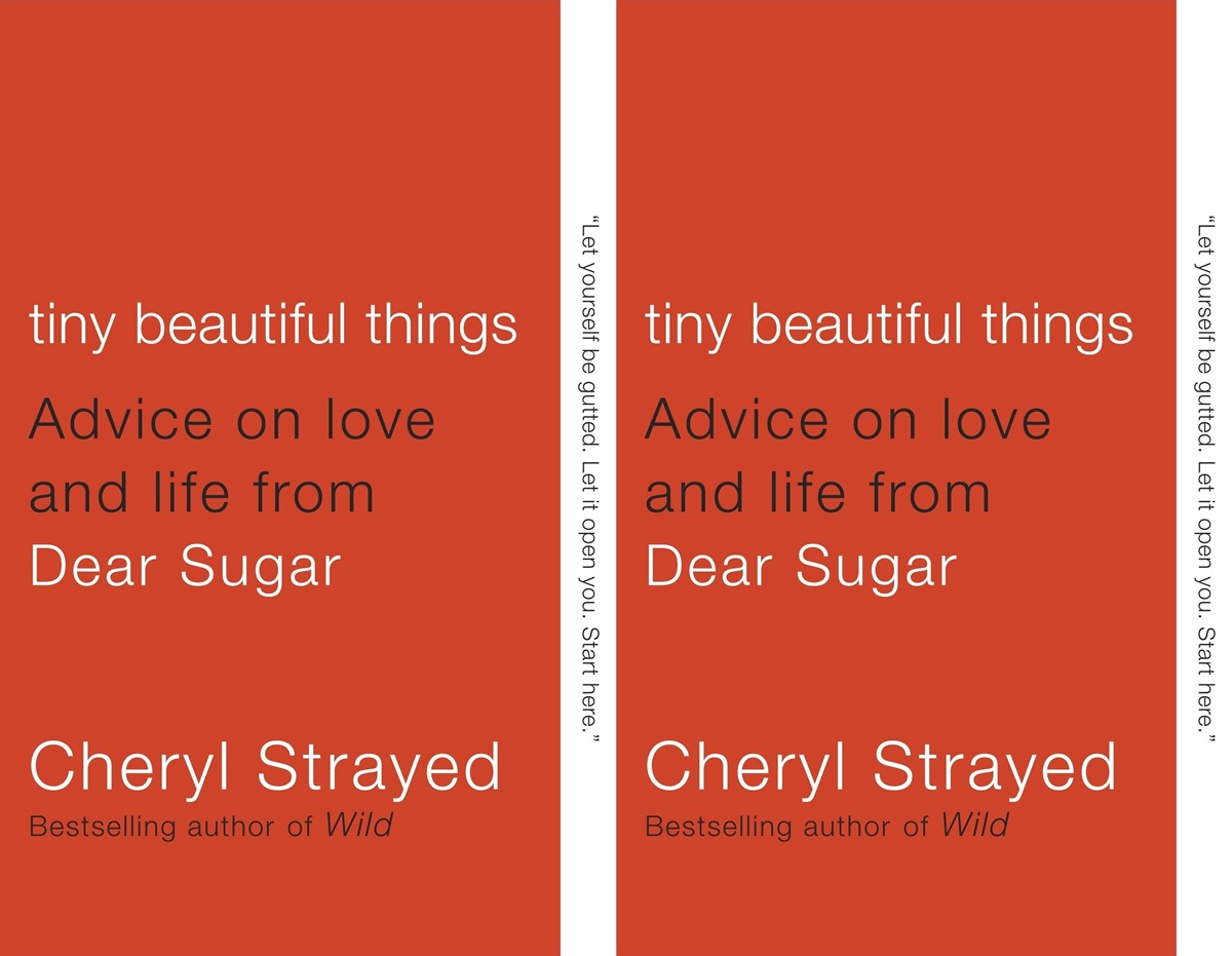 cheryl strayed books, cover of tiny beautiful things by cheryl strayed, books