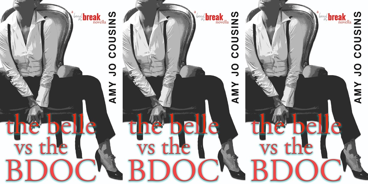 alpha heroines in romance, cover of the belle vs the bdoc by amy jo cousins, books